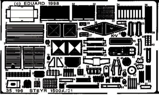 Steyr 1500A/01 Detailbausatz