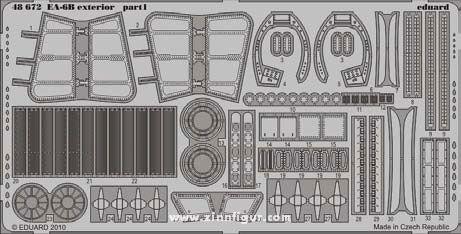 EA-6B Außendetails