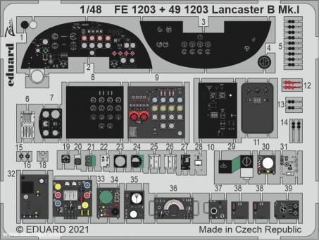 Lancaster B Mk.I Cockpitdetails