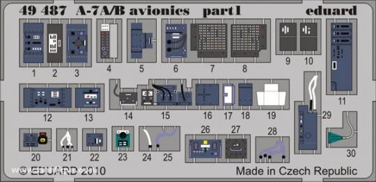 A-7A/B Avionics