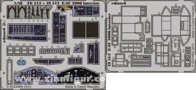 E-2C 2000 Innendetails