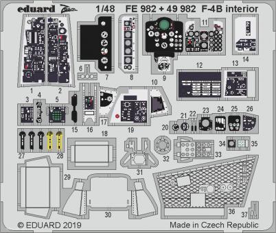 F-4B Innendetails
