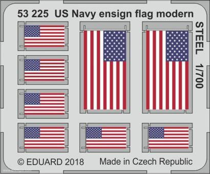 Moderne US Navy Flaggen (Stahl)