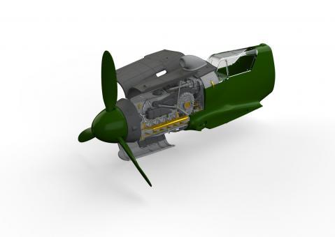 Bf 109G-10/U4 Motor