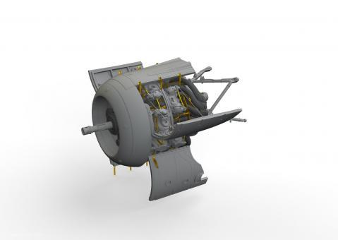 Fw 190A-8/R2 Motor
