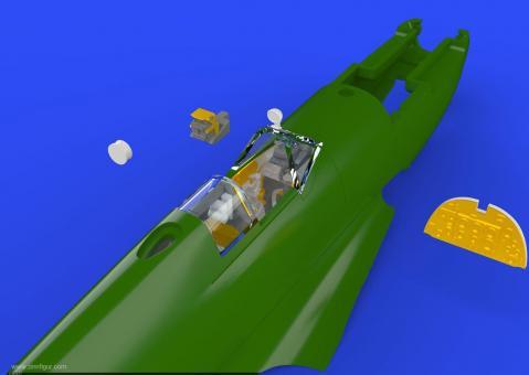 Spitfire Mk.IX Cockpit