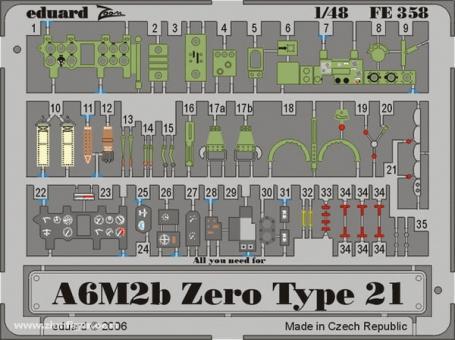 A6M2b Zero type 21 ZOOM