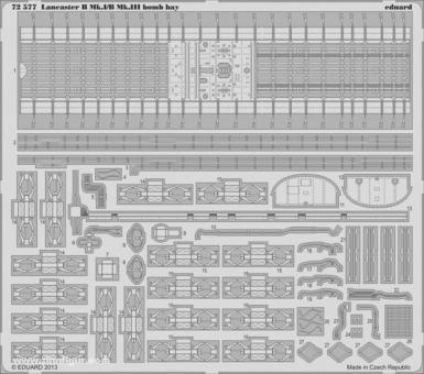 Lancaster B Mk.I/B Mk.III Bombenschacht