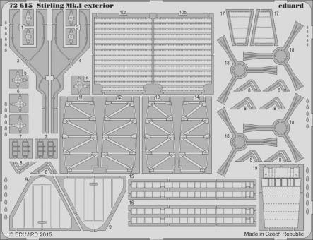 Stirling Mk.I Außendetails