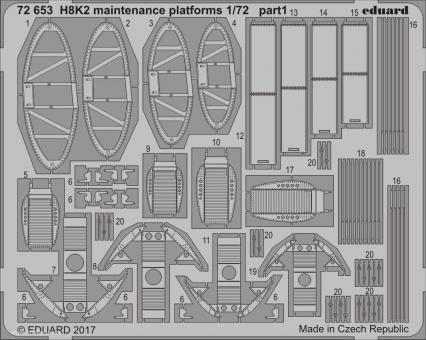 H8K2 Emily Wartungsplattformen