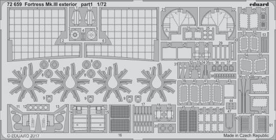 Fortress Mk.III Außendetails