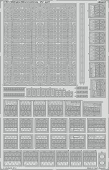 Wellington Mk.Ia/c Bombenschachtdetails