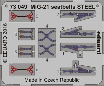 MiG-21 Gurte (Stahl)