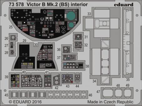 Victor B.2/Mk.2 (BS) Innendetails