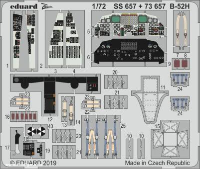 B-52H Innendetails