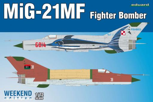 MiG21MF Fighter Bomber - Weekend Edition