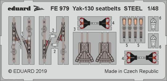 Yak-130 Gurte (Stahl)