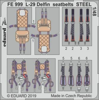 L-29 Delfin Gurte (Stahl)