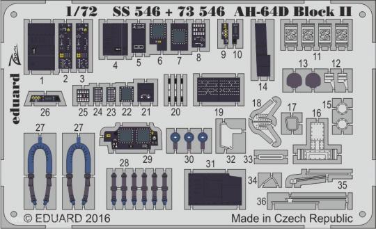 AH-64D Block II Innendetails ZOOM
