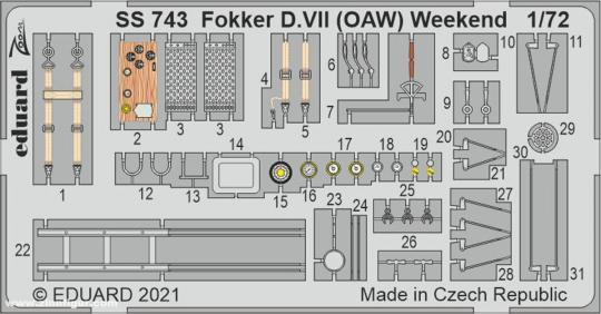Fokker D.VII (OAW) Weekend - ZOOM