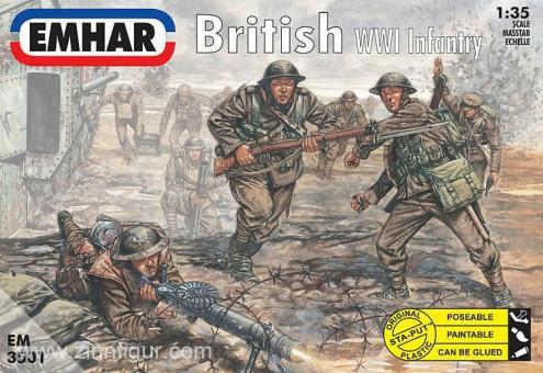 Britische Infanterie - 1. Weltkrieg