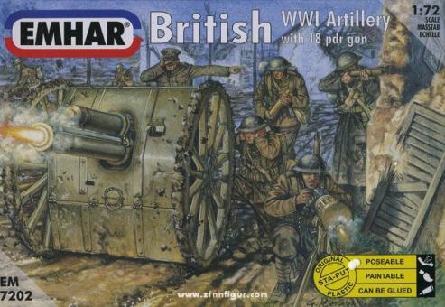 Britische Artillerie