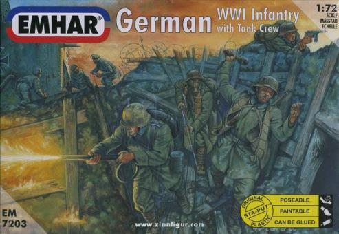 Deutsche Infanterie und Panzerbesatzung