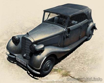 Militärwagen Typ 170 V Tourenwagen