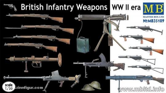Britische Infanteriewaffen WK2