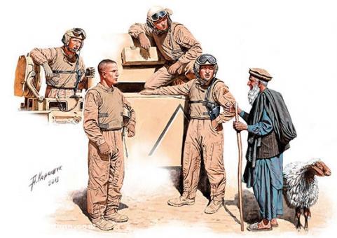 US Panzersoldaten in Afghanistan