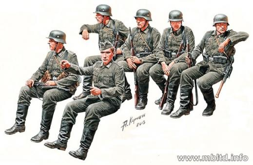 Deutsche Infanterie, Truppentransport