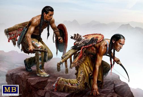 Indianer-Überfall