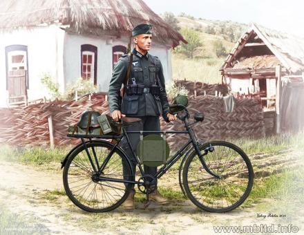 German Soldier-Bicyclist - 1939-42