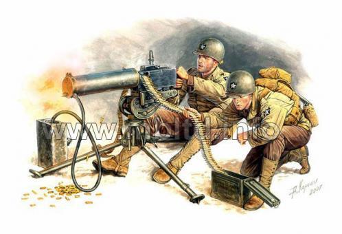 Maschinengewehr-Trupp
