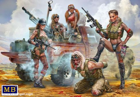 """Skull Clan - New Amazons - """"This is not the place for strangers!"""" - Desert Battle Series"""