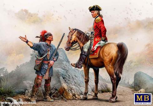 Offizier & Irokese - Indianerkriege Nr. 3