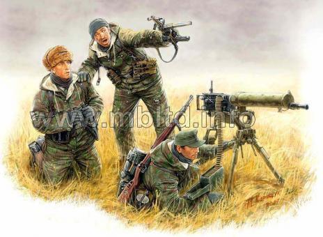 Maschinengewehr-Trupp, Ostfront