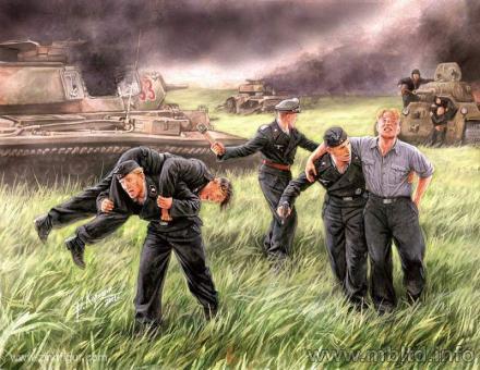"""Panzersoldaten bei Kursk """"Im Feuer"""""""