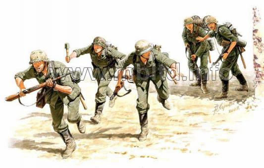 Meldetrupp in Stalingrad