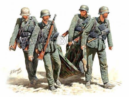 Verwundetentransport - Stalingrad Sommer 1942