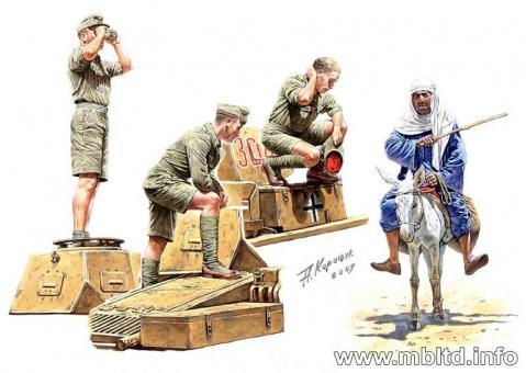 Afrika Korps Soldaten