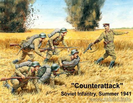 Gegenangriff der Infanterie, Sommer 1941