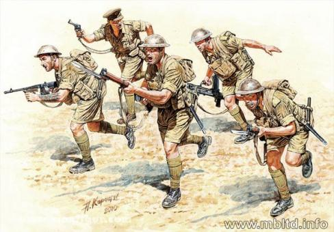 British Infantry, North Africa, 1941-1943, Part 2