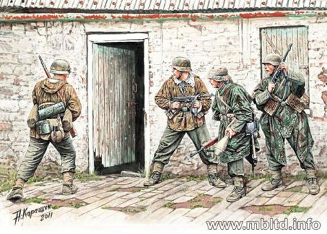 German Infantry in Western Europe 1944-45