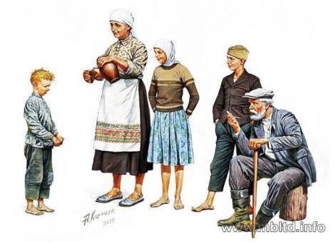 Osteuropäische Bauern