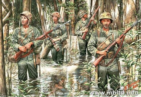 US Marines im Dschungel