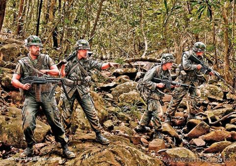 Dschungel-Patrouille
