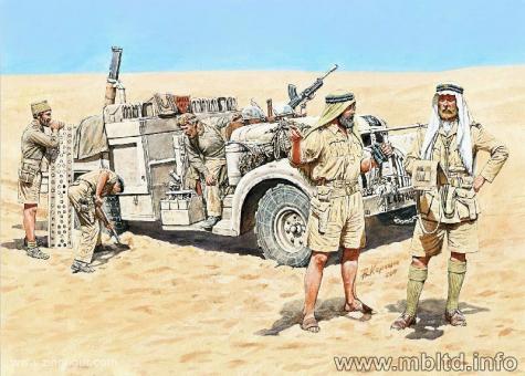 LRDG in Nordafrika