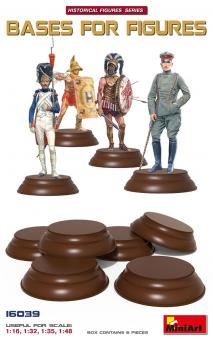 Bases for Figures - 6 Pieces