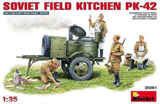 Sowjetische Feldküche PK-42